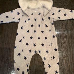Nordstrom baby 12 month unisex body suit/ coat